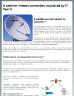 World conspects - Broadband satellite internet