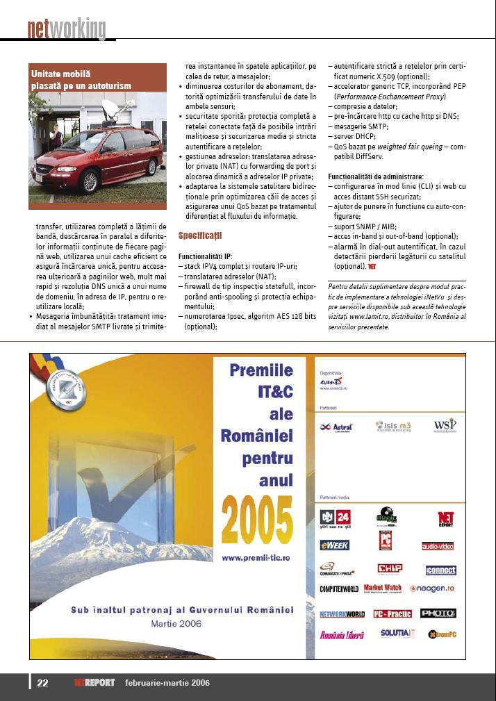 Net report 12/2006 about mobile satellite internet equipment pic 3