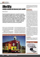 Mobile Satellite Internet iNetVu equipment