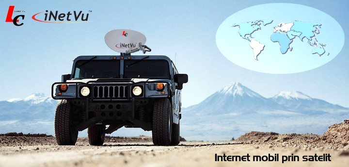 Internet Mobile par satellite