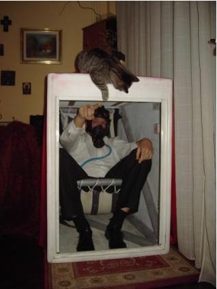 Personal Safety Pod Inside