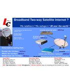 Tele Satellite Internet via satellite Article